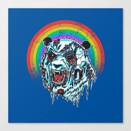 Zombie Panda Canvas Print