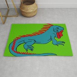 The Phenomenal Iguana Rug