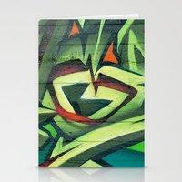 frames Stationery Cards featuring Graffiti Frames by Maccio