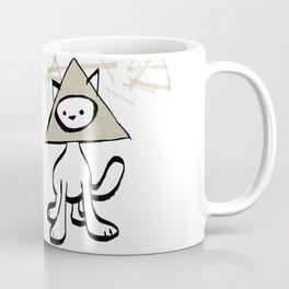 minima - pyramid cat Coffee Mug