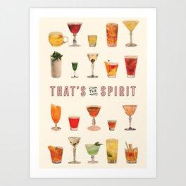 That's the Spirit Art Print
