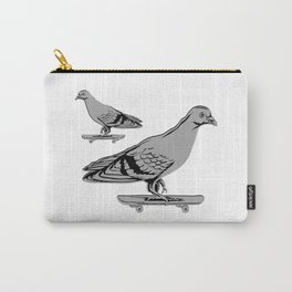 Pigeons on skateboards Carry-All Pouch
