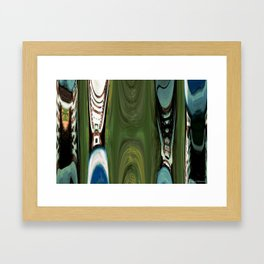 ABSTRACT SNEAKERS 1 Framed Art Print