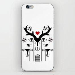 """Deardeer """"Heart"""" iPhone Skin"""