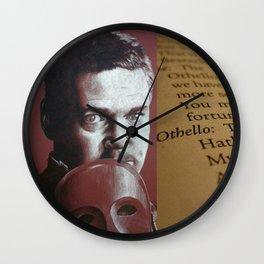 O Beware My Lord Of Jealousy Othello Shakespeare Wall Clock
