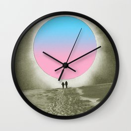 Looking for colors Wall Clock