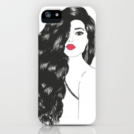 All That Hair iPhone Case