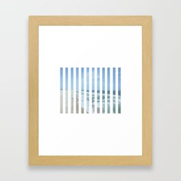 Up Up Up Framed Art Print