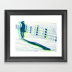 Young Woman with Hat Framed Art Print