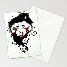 Tears Of Blood Stationery Cards