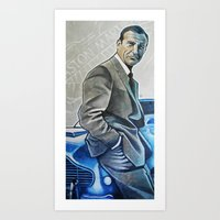 bond Art Prints featuring Bond by HUP126