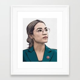 A.O.C. Framed Art Print