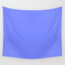 Periwinkle Blue Wall Tapestry