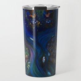 BLUE BRANCHES Travel Mug