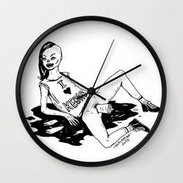 I LOVE KEBAB Wall Clock