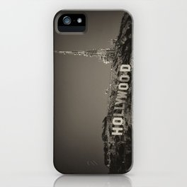 Vintage Hollywood sign iPhone Case