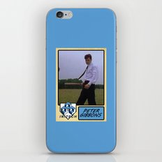 Peter Gibbons Baseball Card iPhone & iPod Skin