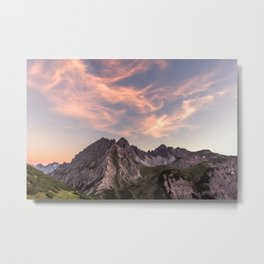 Alpine Journey Metal Print