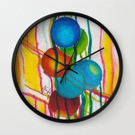 sphere garden Wall Clock