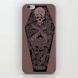 Ashes to ashes. Dust to dust. iPhone Skin
