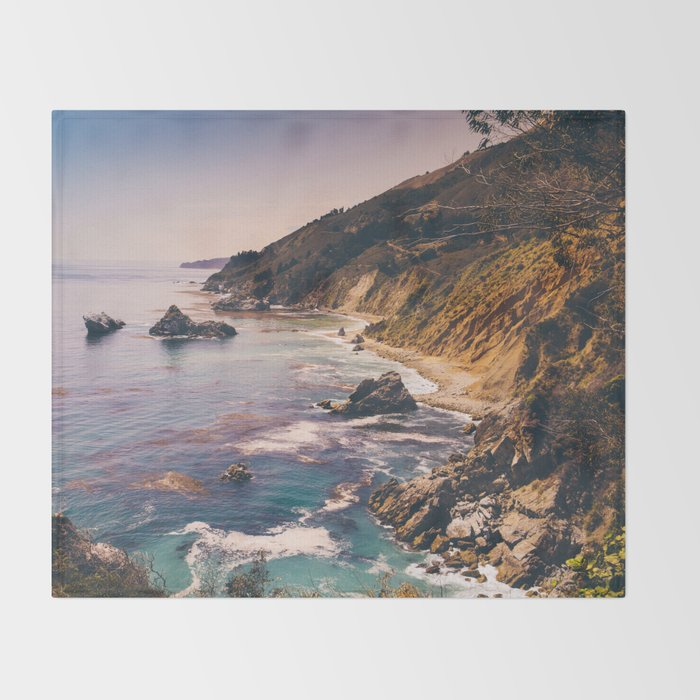 Big Sur Pacific Coast Highway Throw Blanket