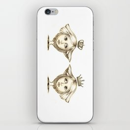Siamese Queens iPhone Skin