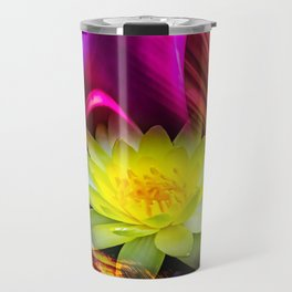 Flower Magic -Water lily Travel Mug