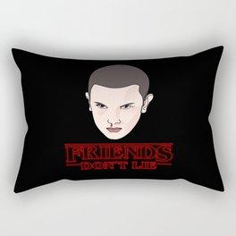 Los amigos no mienten Rectangular Pillow