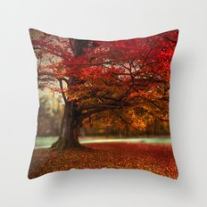 Finest fall Throw Pillow