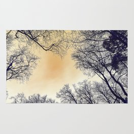 Infrared Forest Rug