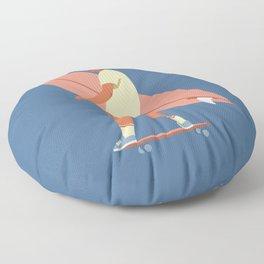Surf poster Floor Pillow