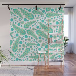Forgetful Gardener Pattern Wall Mural