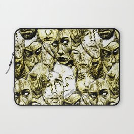 Face Stitches Laptop Sleeve