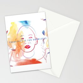 Creativity is Fun Knowledge Stationery Cards