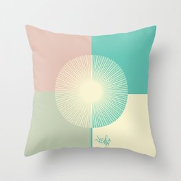Summer Breeze Throw Pillow