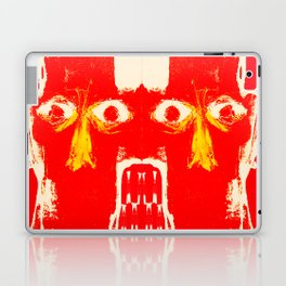four heads and eight eyes Laptop & iPad Skin