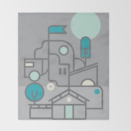 Architecture Throw Blanket