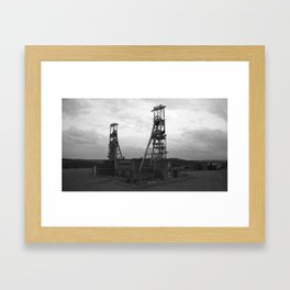 Colliery Framed Art Print