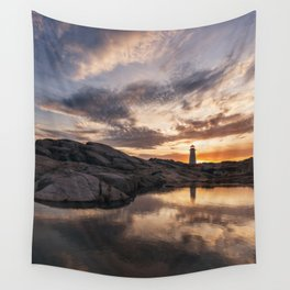 Reflecting Light Wall Tapestry