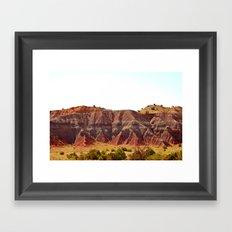Purple Mountain's Majesty  Framed Art Print