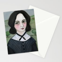 Emily Bronte and her Wuthering Heights Stationery Cards