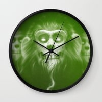 lotr Wall Clocks featuring Those Who Are Dead by Dr. Lukas Brezak