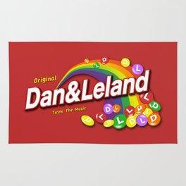 Dan and Leland - Skittles Parody Rug