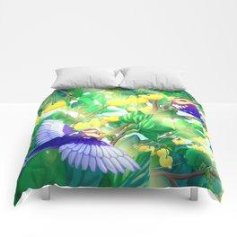 The seasons | Summer birds Comforters