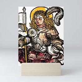 Saint Menas Mini Art Print