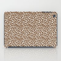 leopard iPad Cases featuring Leopard by Zen and Chic