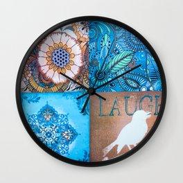 Peace Of Nature Wall Clock