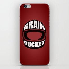 Brain bucket iPhone Skin
