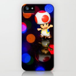 Dancing toad iPhone Case