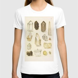 Quartz Crystals T-shirt